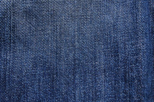 látka na džíny