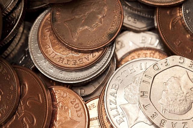 anglický peníze