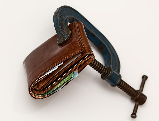zabezpečená peněženka